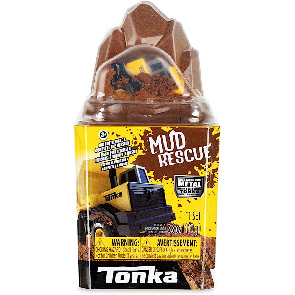 Tonka Mud Rescue Metal Movers