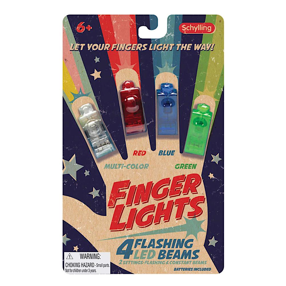 LED Finger Flashlights