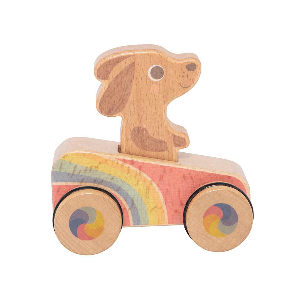 Schylling Rainbow Roller Dash Hound