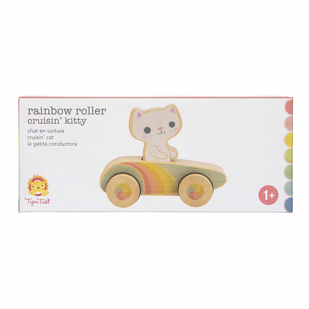 Schylling Rainbow Roller Cruising Kitty