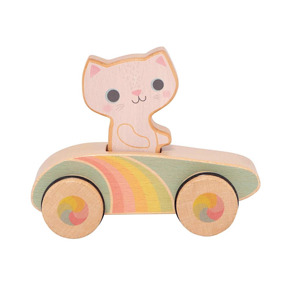 Rainbow Roller Cruising Kitty