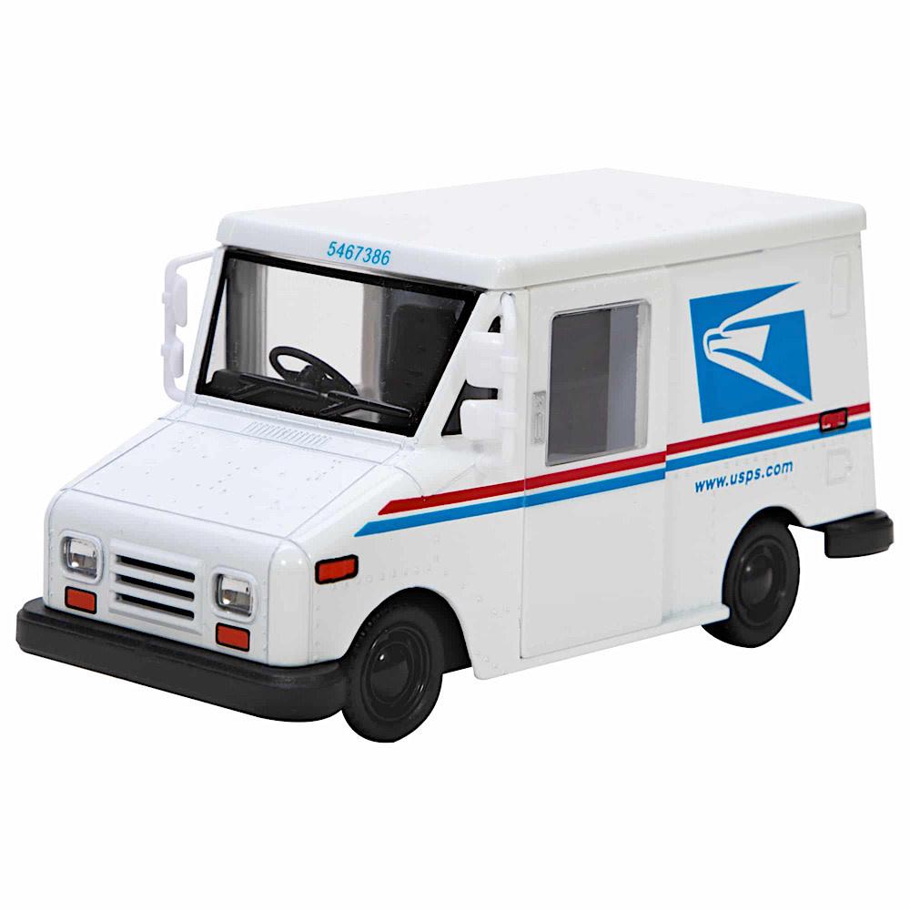 Die Cast Mail Truck