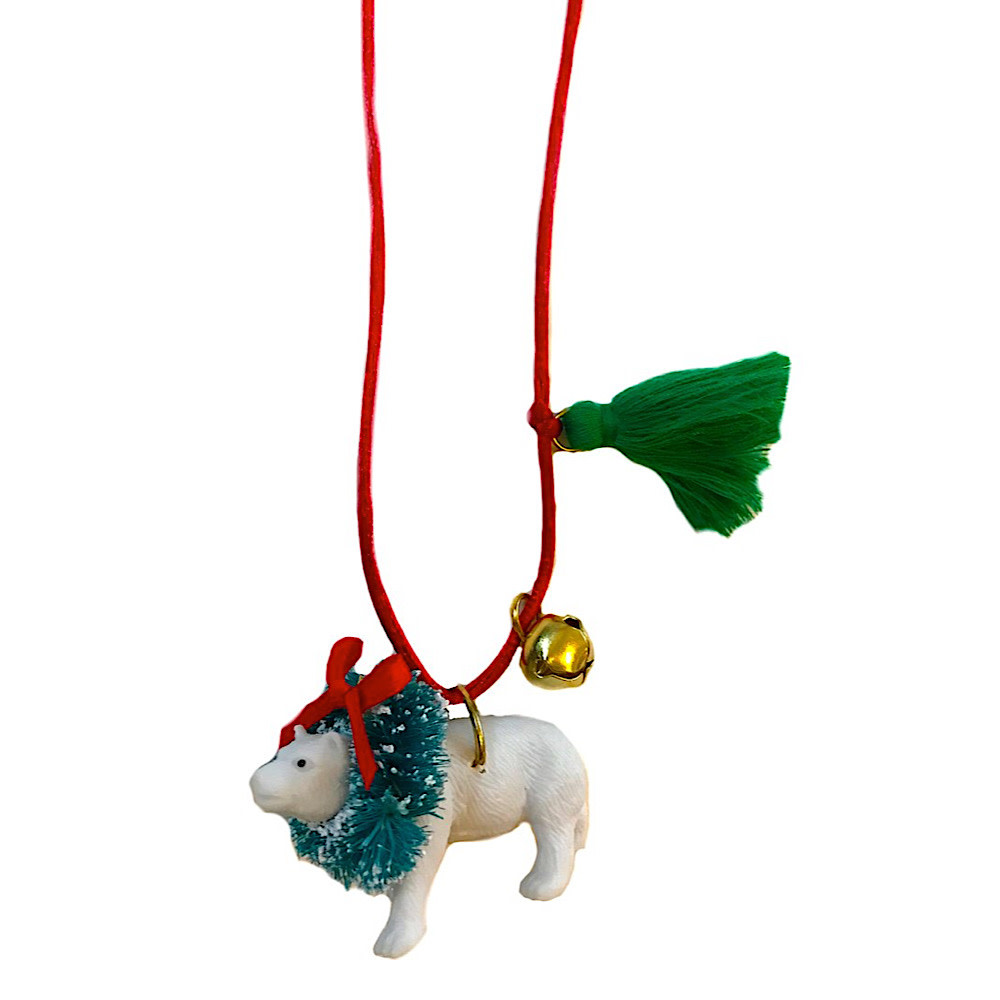 Gunner & Lux Polar Bear Necklace