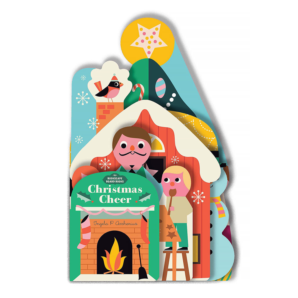 Chronicle Bookscape Board Books: Christmas Cheer
