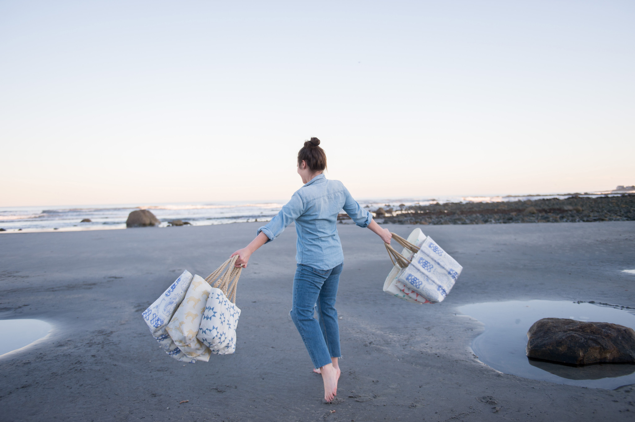 Just In! New Sara Fitz Sea Bags at Daytrip Society
