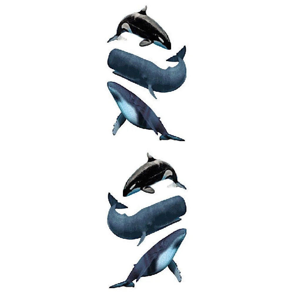 Mrs. Grossmans Stickers - Whales Strip