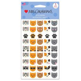 Mrs. Grossman's Mrs. Grossmans Stickers - Cat Emotions Strip