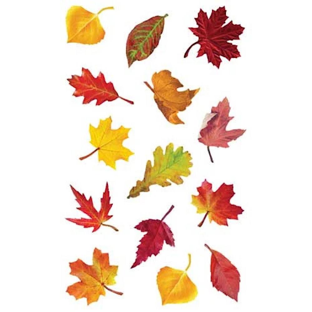 Mrs. Grossmans Stickers - Falling Leaves Strip
