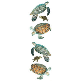 Mrs. Grossman's Mrs. Grossmans Stickers - Turtles Strip