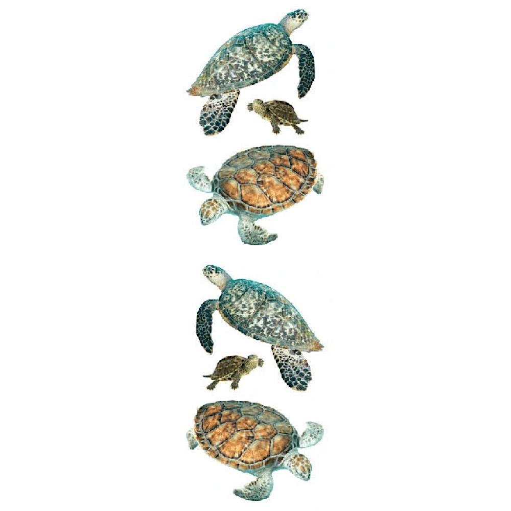 Mrs. Grossmans Stickers - Turtles Strip