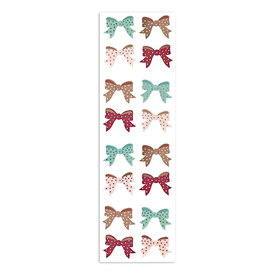 Mrs. Grossman's Mrs. Grossmans Stickers - Rose Gold Bows Strip