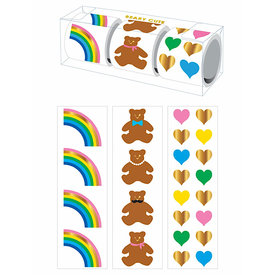 Mrs. Grossman's Mrs Grossmans 3 Roll Sticker Gift Box - Beary Cute