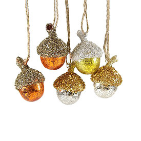 Cody Foster Ornament - Forest Floor Acorn - Small
