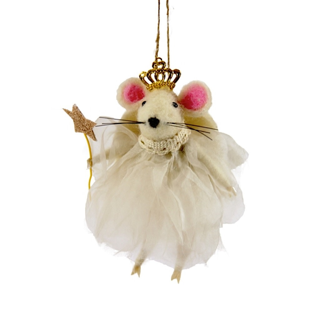 Cody Foster Ornament - Angel Mouse