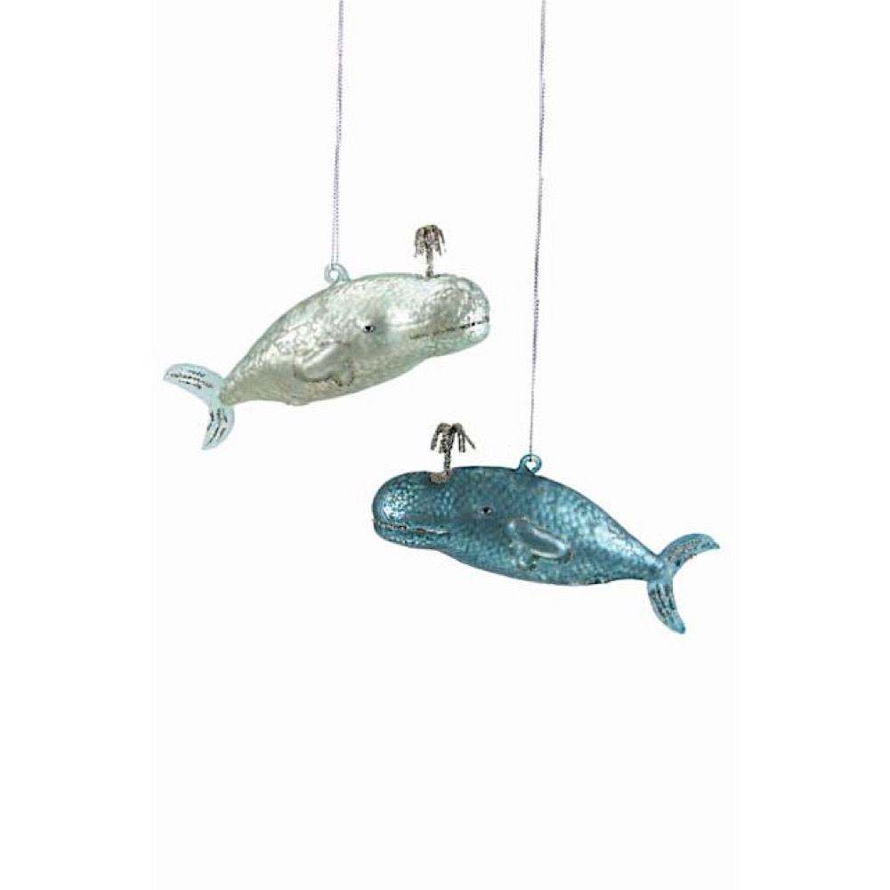 Cody Foster Ornament - Victorian Whale