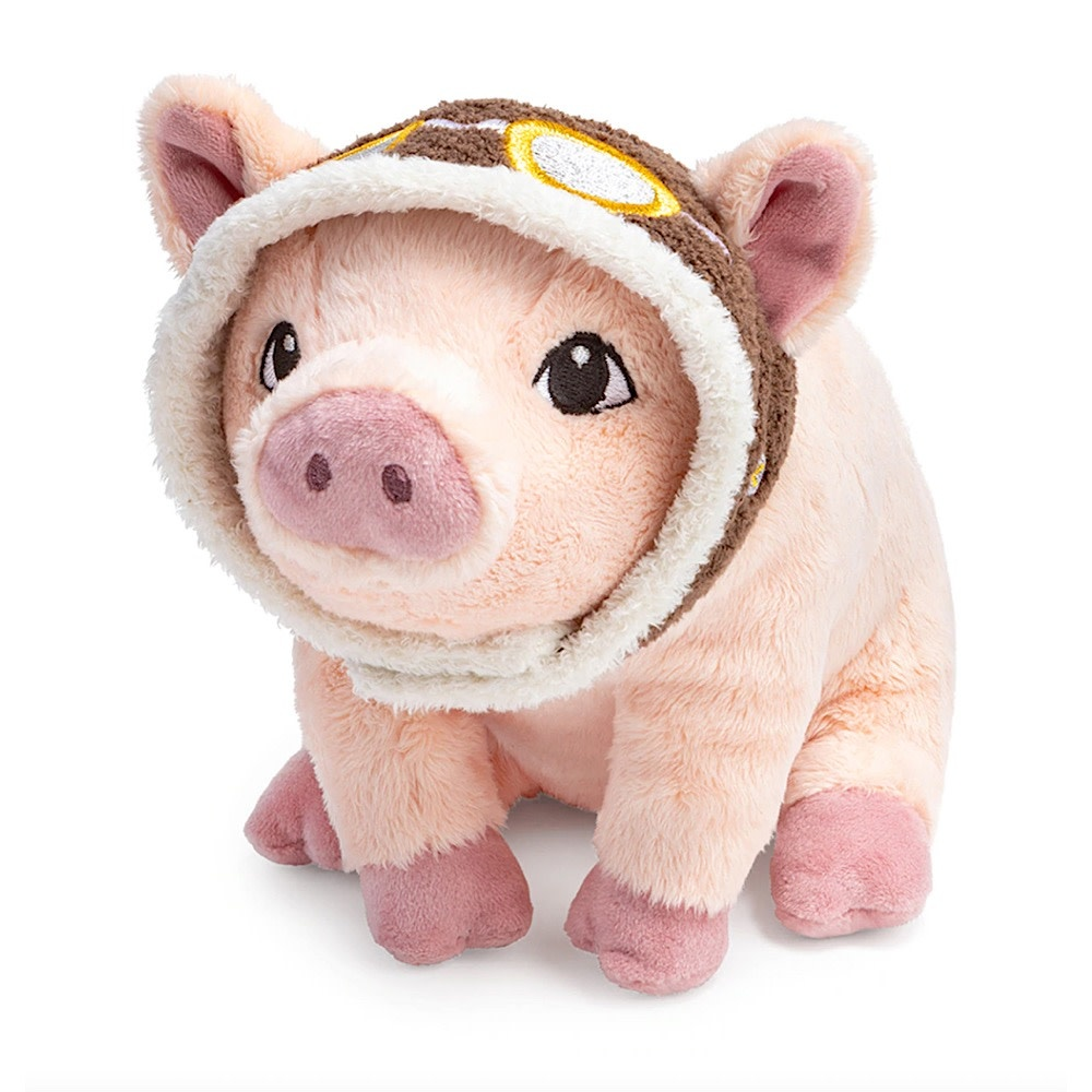 Compendium Maybe Flying Pig Plush