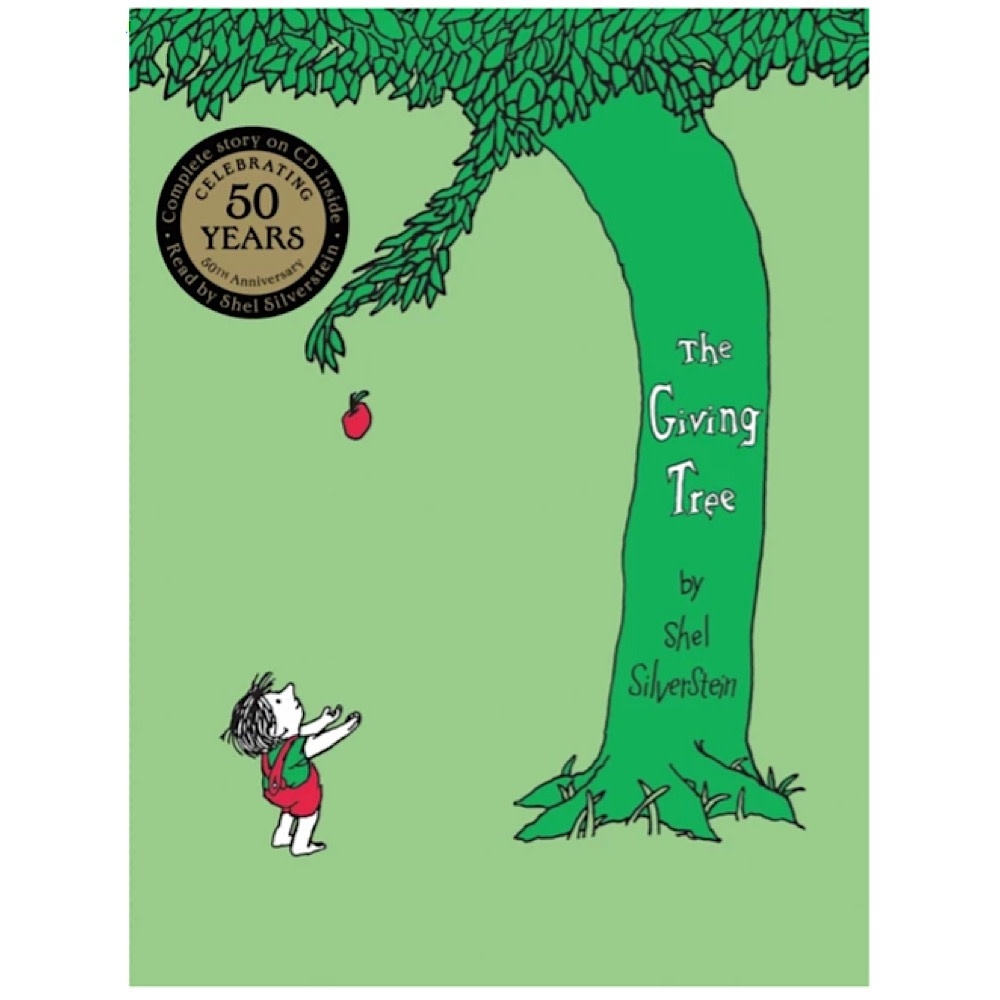 Harper Collins The Giving Tree with CD