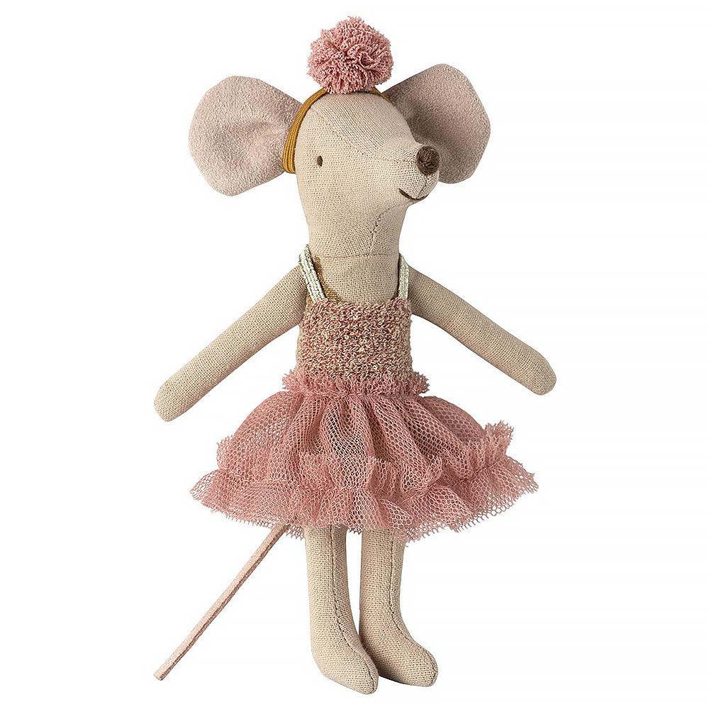 Maileg Maileg Mouse -  Big Sister Dancer Mouse - Mira Bella