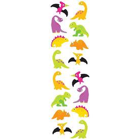 Mrs. Grossman's Mrs. Grossmans Stickers - Chubby Dinosaurs Strip
