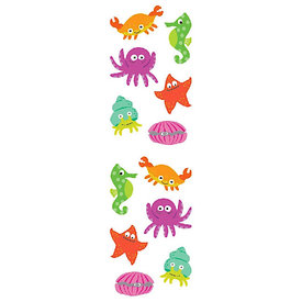 Mrs. Grossman's Mrs. Grossmans Stickers - Chubby Sea Life Strip