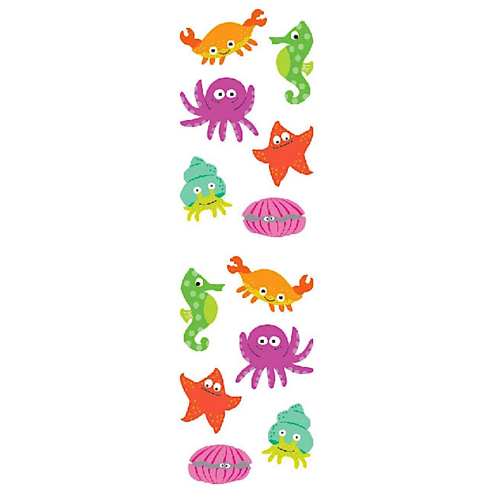 Mrs. Grossmans Stickers - Chubby Sea Life Strip