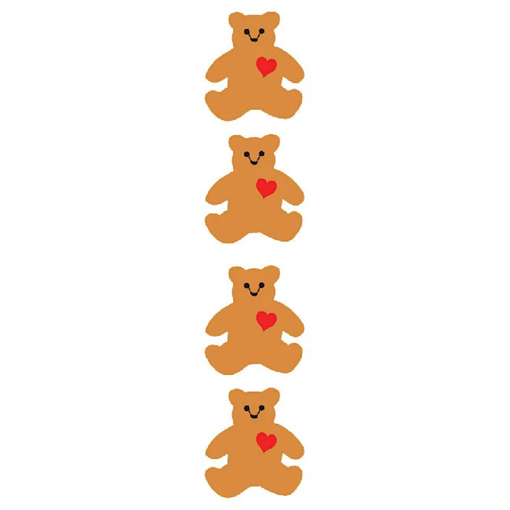 Mrs. Grossmans Stickers - Classic Bear Reflections Strip