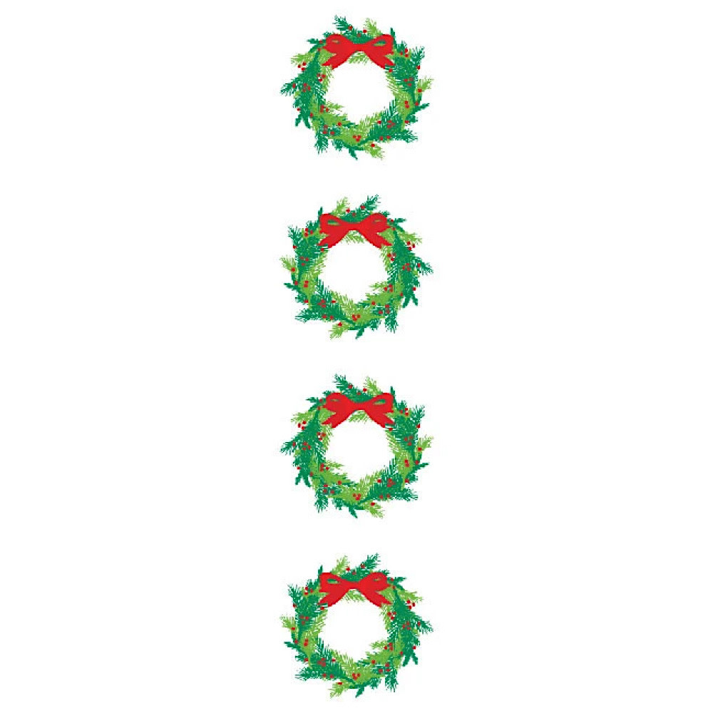 Mrs. Grossmans Stickers - Bright Wreath, Reflections Strip