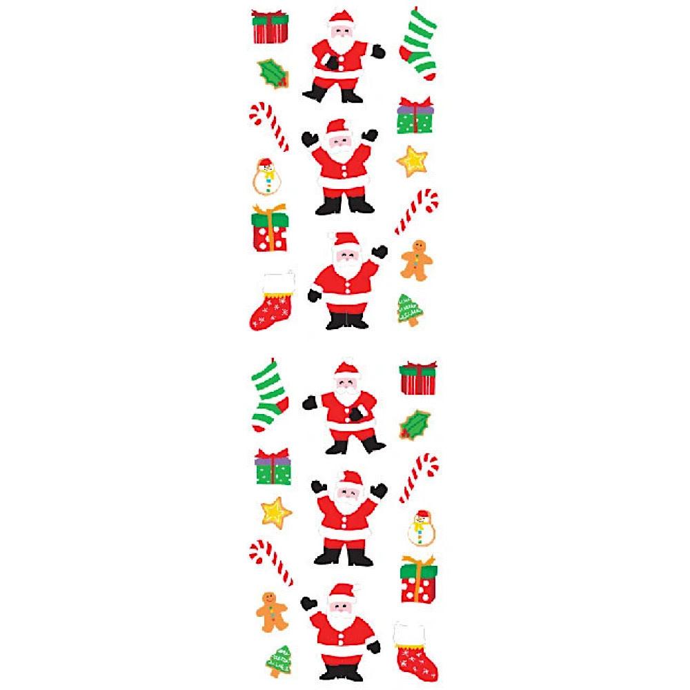 Mrs. Grossman's Mrs. Grossmans Stickers - Santa and Things Strip