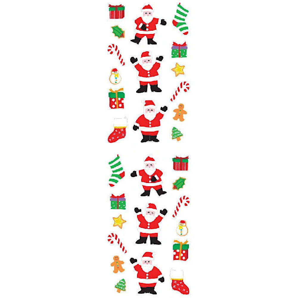 Mrs. Grossmans Stickers - Santa and Things Strip