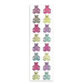 Mrs. Grossman's Mrs. Grossmans Stickers - Pastel Bears Strip