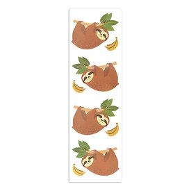 Mrs. Grossman's Mrs. Grossmans Stickers - Cheerful Sloths Strip