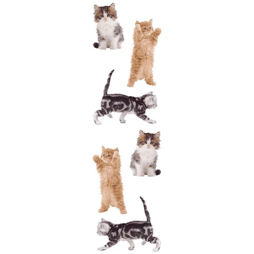Mrs. Grossmans Stickers - Kitties Strip