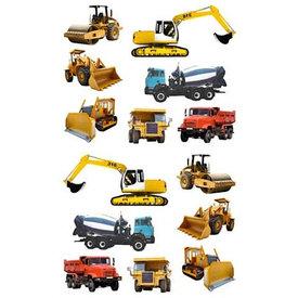 Mrs. Grossman's Mrs. Grossmans Stickers - Tractors & Trucks Strip