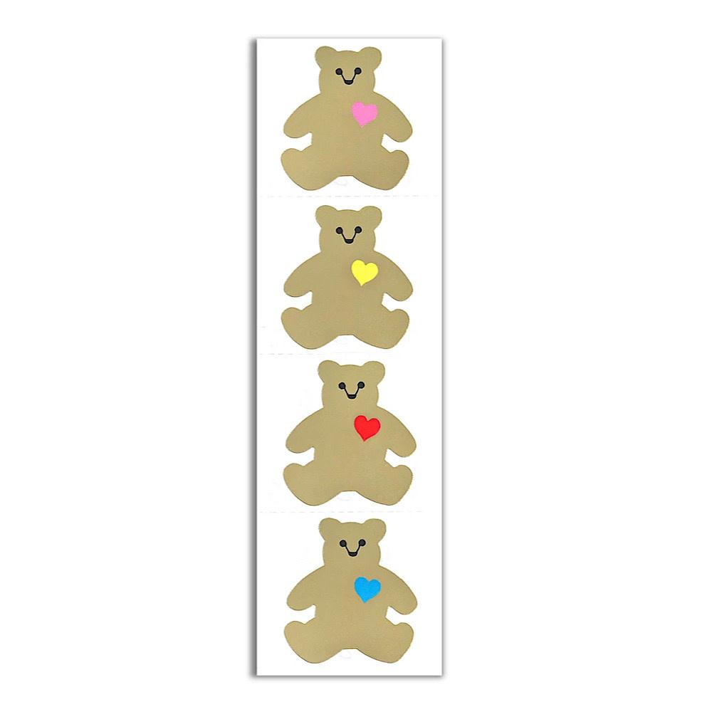 Mrs. Grossmans Stickers - Gold Classic Bear Strip