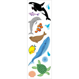 Mrs. Grossman's Mrs. Grossmans Stickers - Ocean Life Strips