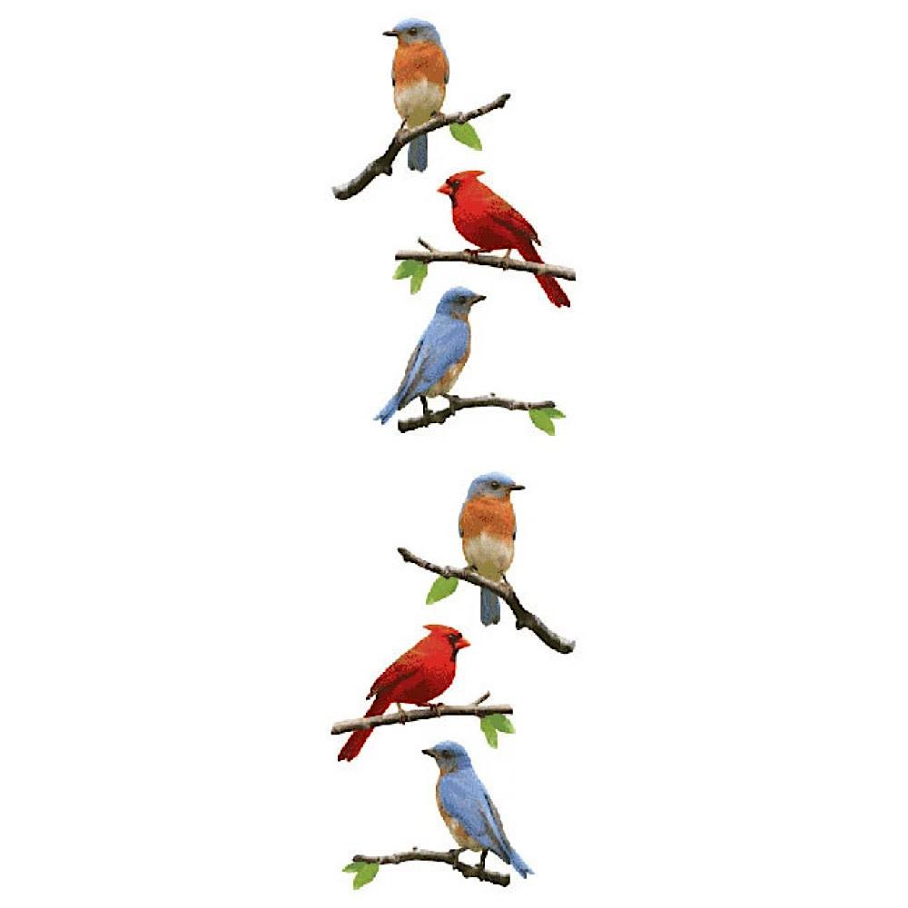 Mrs. Grossmans Stickers - Birds Strip