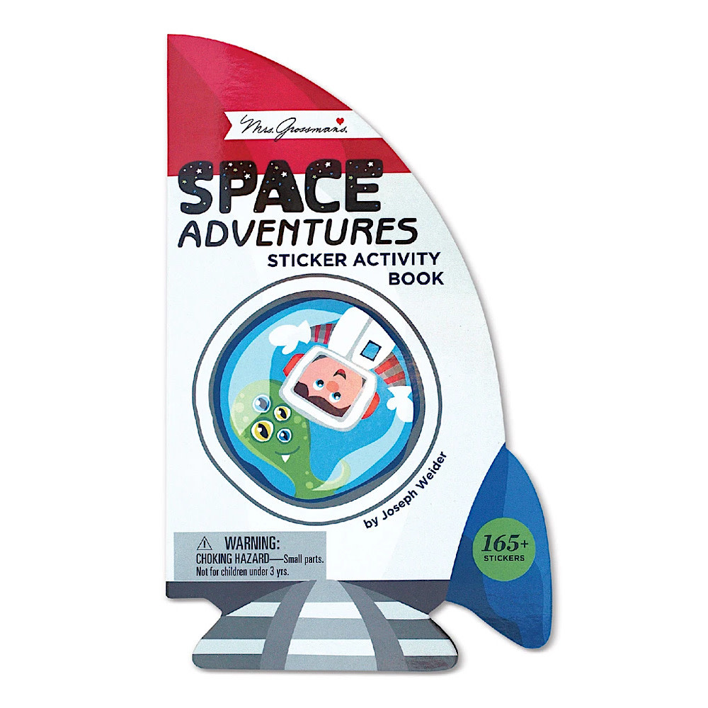 Mrs. Grossman's Mrs. Grossmans Stickers - Space Adventures Activity Book