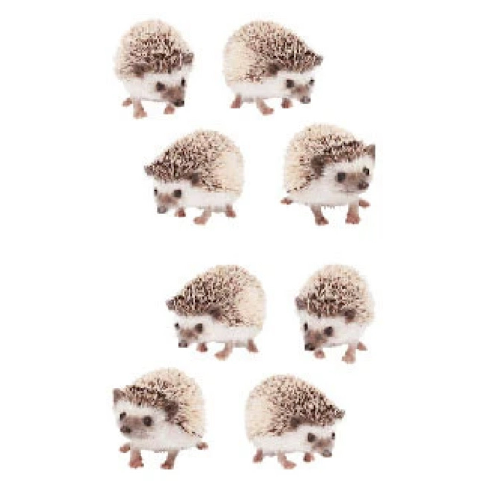 Mrs. Grossmans Stickers - Hedgehogs Strip