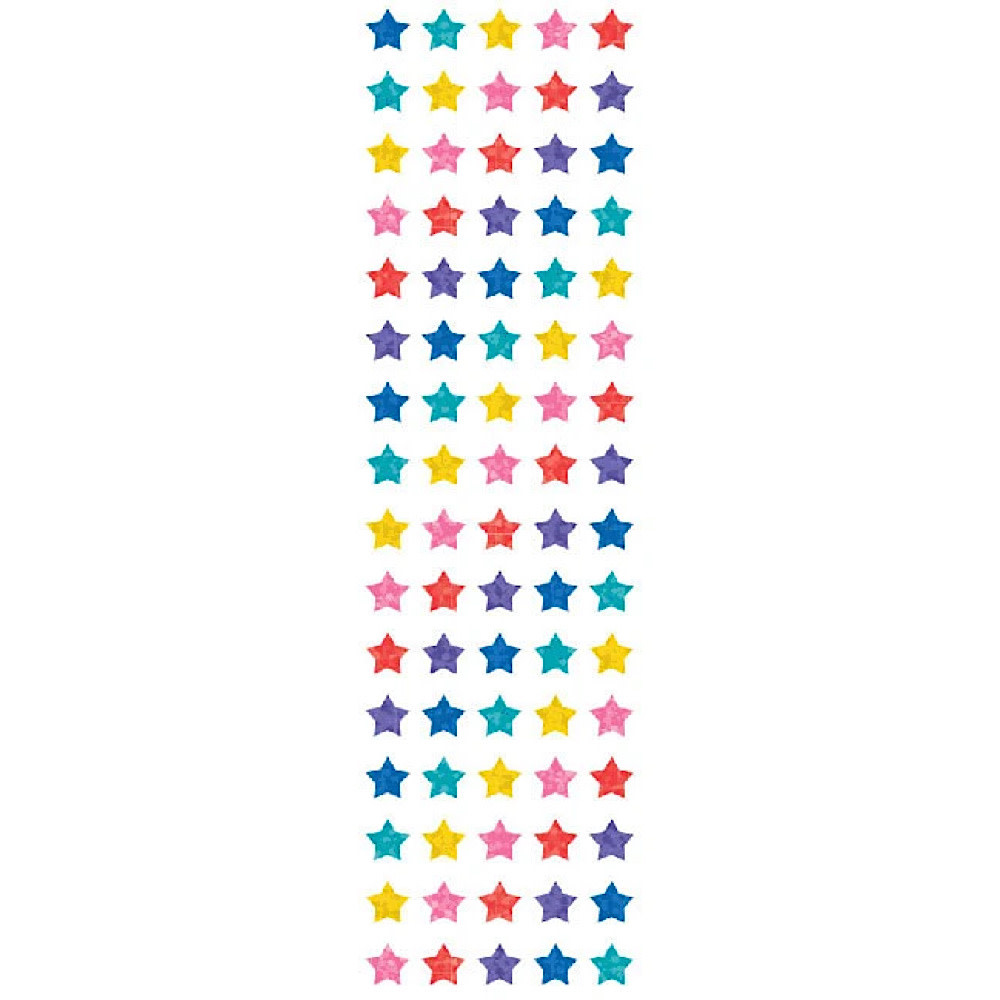 Mrs. Grossman's Mrs. Grossmans Stickers - Multi Micro Star Sparkles Strip