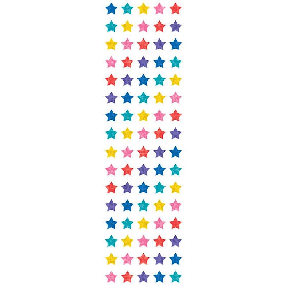 Mrs. Grossmans Stickers - Multi Micro Star Sparkles Strip