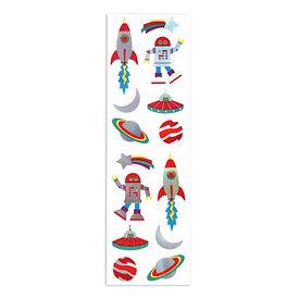 Mrs. Grossman's Mrs. Grossmans Stickers - Retro Holographic Space Strip