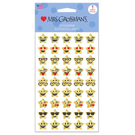 Mrs. Grossman's Mrs. Grossmans Stickers - Star Emotions Strip