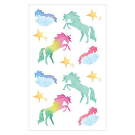Mrs. Grossman's Mrs. Grossmans Stickers - Watercolor Unicorns Strip