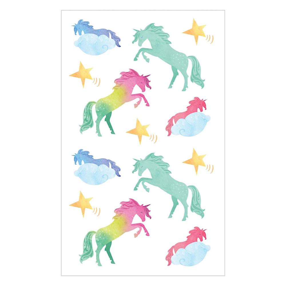 Mrs. Grossmans Stickers - Watercolor Unicorns Strip