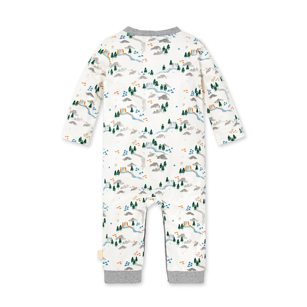 Burt's Bees Camp Grounds Jumpsuit - Eggshell
