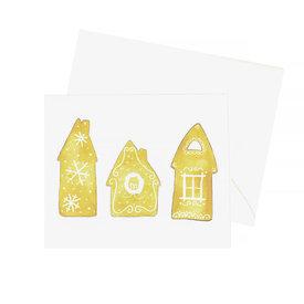 Sara Fitz Sara Fitz Box of 8 Cards - Gingerbread