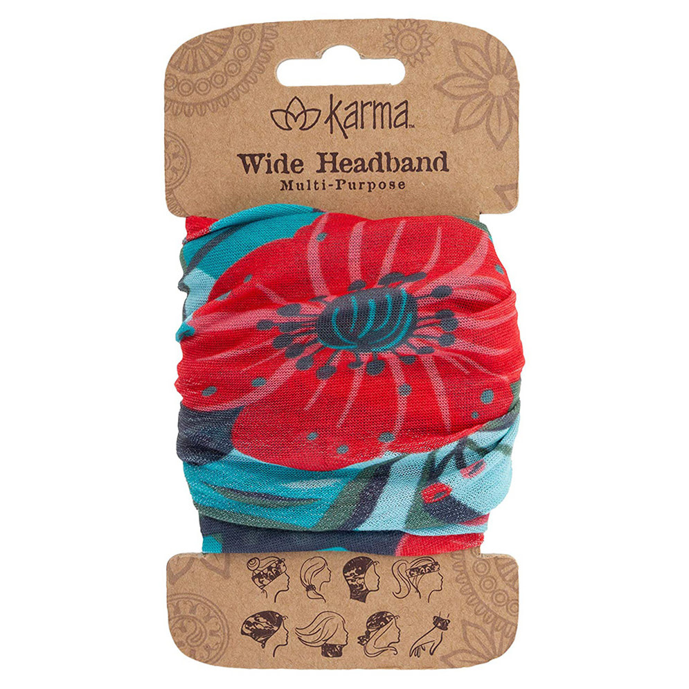Karma Karma Wide Headband - Garden Floral