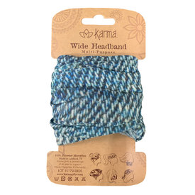 Karma Karma Wide Headband - Denim