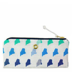 Alaina Marie Alaina Marie Bait Bag Wallet - Custom Maine Ombre Blue