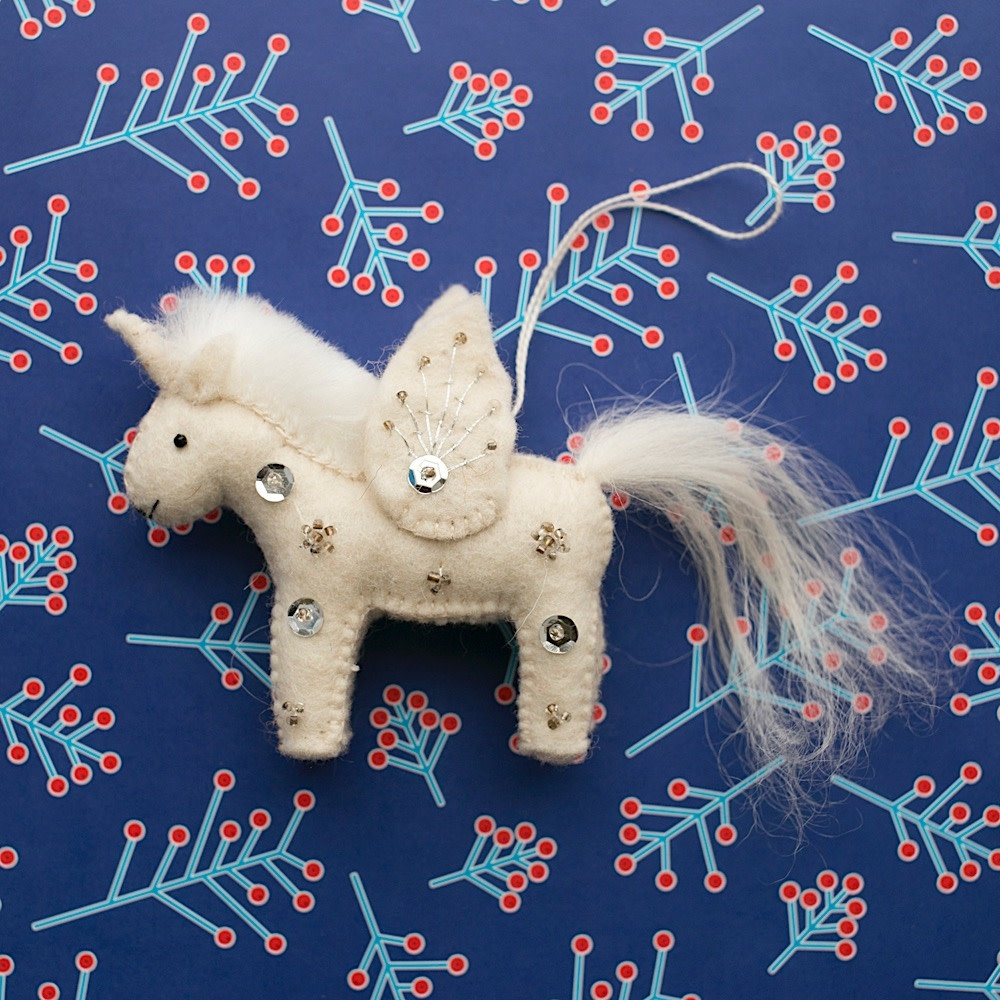 Craftspring Kid Unicorn Ornament